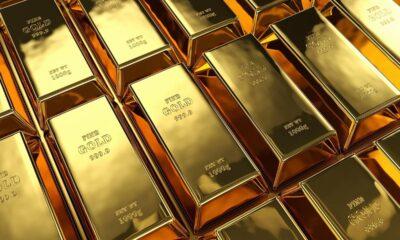 Guldfonder ser utflöden när investerare aktiverar risken