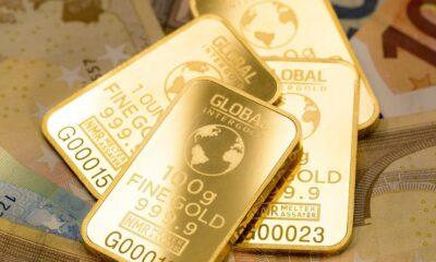 Guldfondernas inflöden överstiger 1 000 ton år 2020