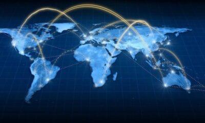 En internationell aktiemodell som ger investerare exponering till utländska aktiemarknader