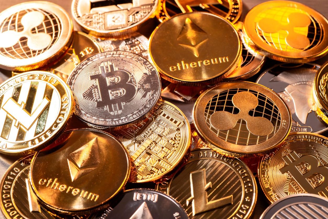 Nio miljarder dollar i börshandlade produkter med fokus på kryptovalutor