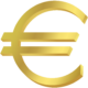 Guld i euro nära ATH