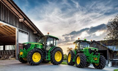 Ett av de mest överraskande namnen i den nya Ark Space ETF var Deere & Company (NYSE: DE), mest känt som en traktortillverkare.