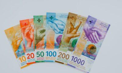 Invesco CurrencyShares Swiss Franc Trust (NYSEArca: FXF ETF) spårar förändringarna i schweiziska francens värde i förhållande till US-dollarn.