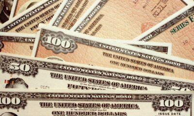 Invesco US Treasury Bond 3-7 Year UCITS ETF GBP hedged Dist (TR7S ETF) investerar i statsobligationer med fokus på USA. Obligationernas löptid är mellan 5-7 år.